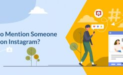 How to mention someone on Instagram?