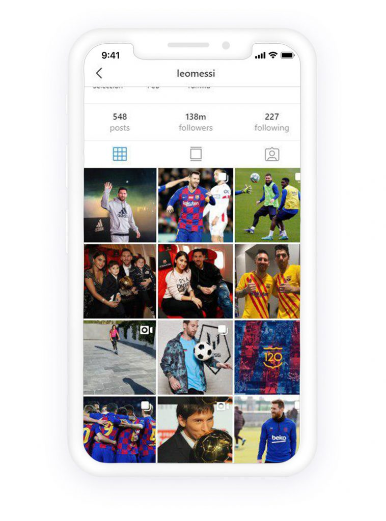 lionel messi Instagram
