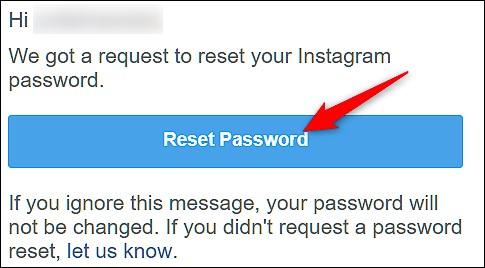 How to Recover your Forgotten Instagram Password