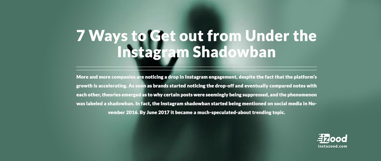 7Ways to Get out from Under the Instagram    | Instazood