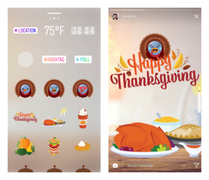 Introducing New Stickers for Thanksgiving