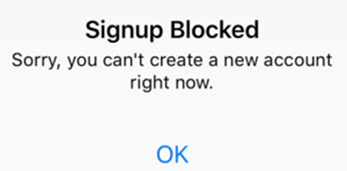 Fix: Instagram – Signup Blocked | Instazood