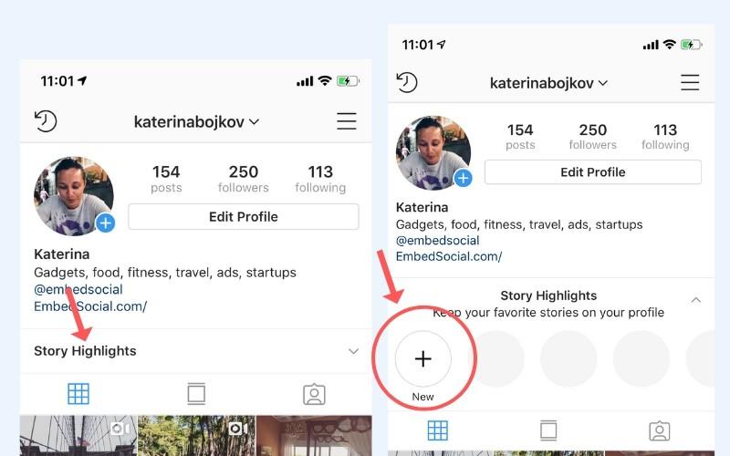 How to Put Instagram Stories under your Instagram Bio