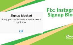 Fix: Instagram – Signup Blocked