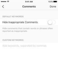 You Can Now Filter Your Own Instagram Comments, Just Like a Celebrity