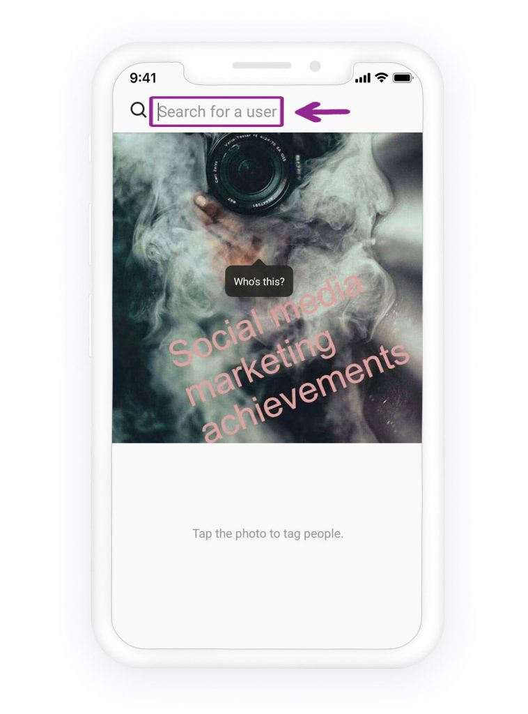 How to tag someone on Instagram 3