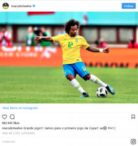 The Top 10 Instagram World Cup Stars Ranked by Follower Numbers!