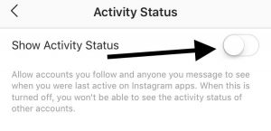 Instagram Online Status Dot _ How to Turn it Off