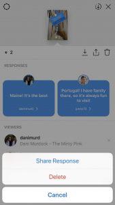 Instagram new interactive sticker - Q&A