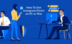 How To Use Instagram Direct On PC or Mac