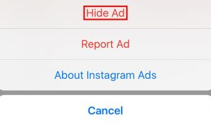 How to Get Rid of Instagram Ads and Sponsored Posts?