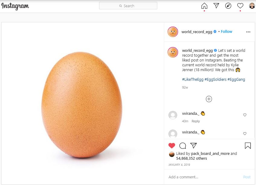 Photo of an egg