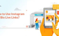 How to use Instagram bio live links?