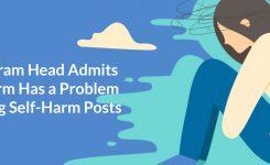 Instagram Head Admits Platform Has a Problem Policing Self-Harm Posts
