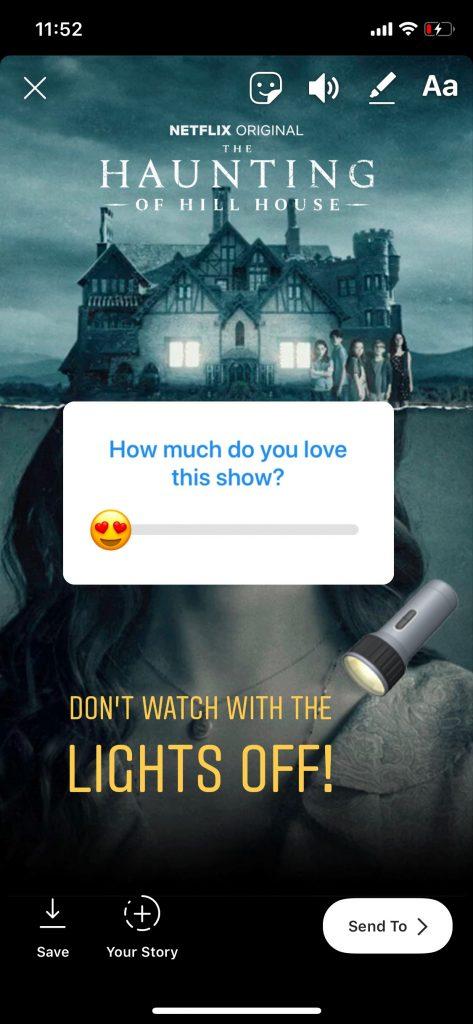 Netflix on Instagram Stories: New Feature for Binge Watchers