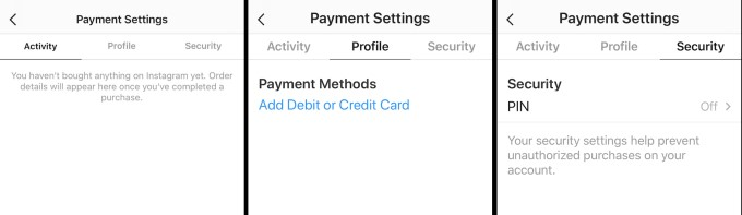 Everything about Instagram Payments