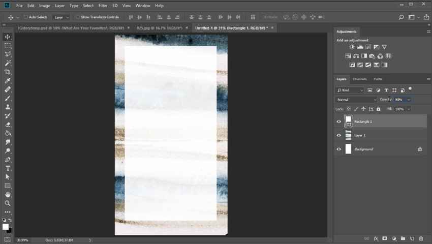 How to Create an Instagram Story Template with Photoshop