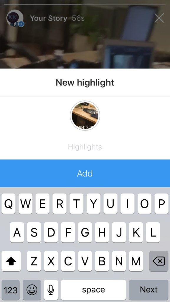 How to Add Instagram Highlights without Adding to Story