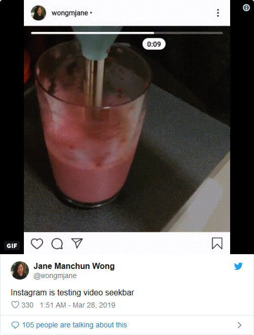 Scrubbing Video and Co-Watching on Instagram