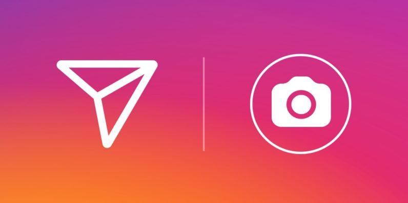 Instagram messaging app