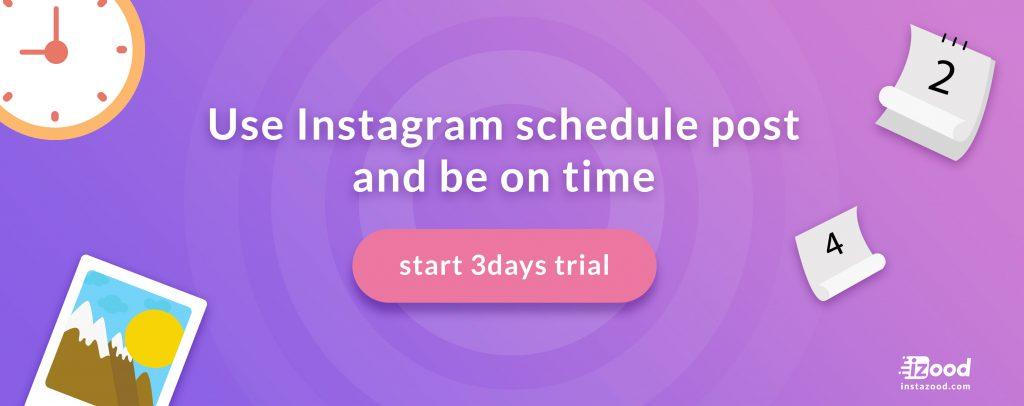 Instagram post scheduler