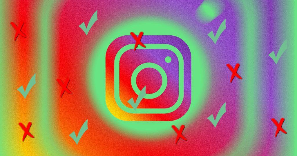 Instagram Reporting Option