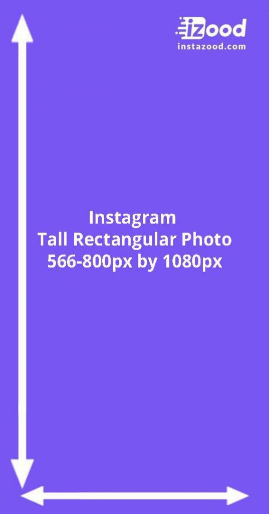 Instagram tall rectangular photo