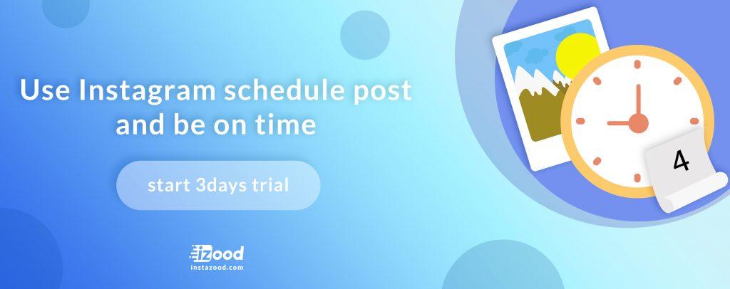 Instazood scheduling