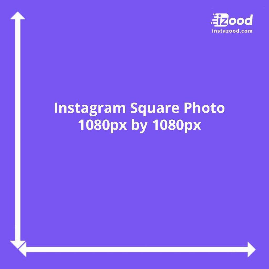 Square Instagram photo dimensions