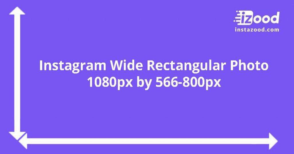 wide rectangular Instagram photo