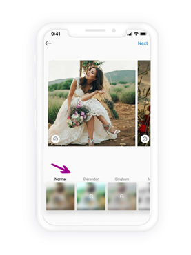 Edit and filters Instagram photos