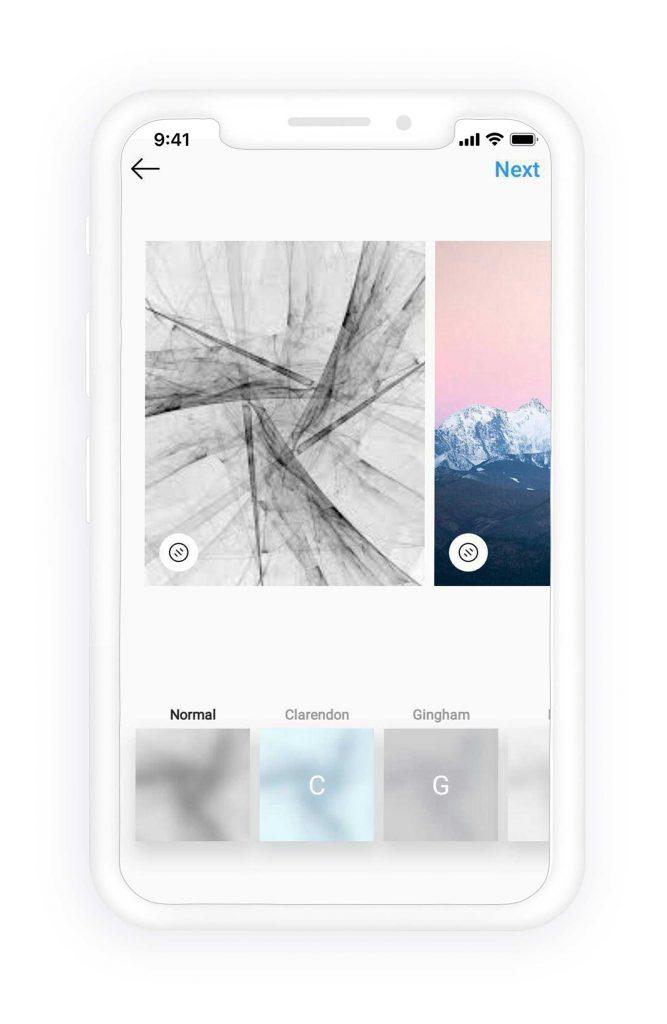 create Instagram carousel post