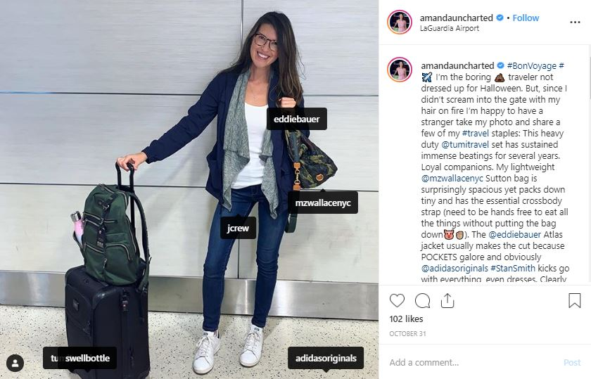 Instagram shoutout examples