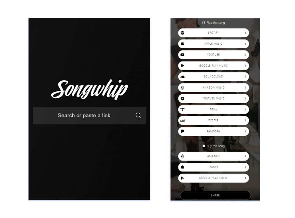 Songwhip