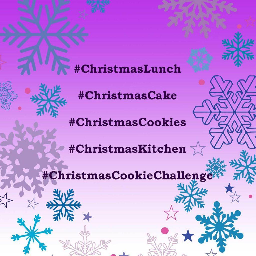 Christmas hashtags for food lovers
