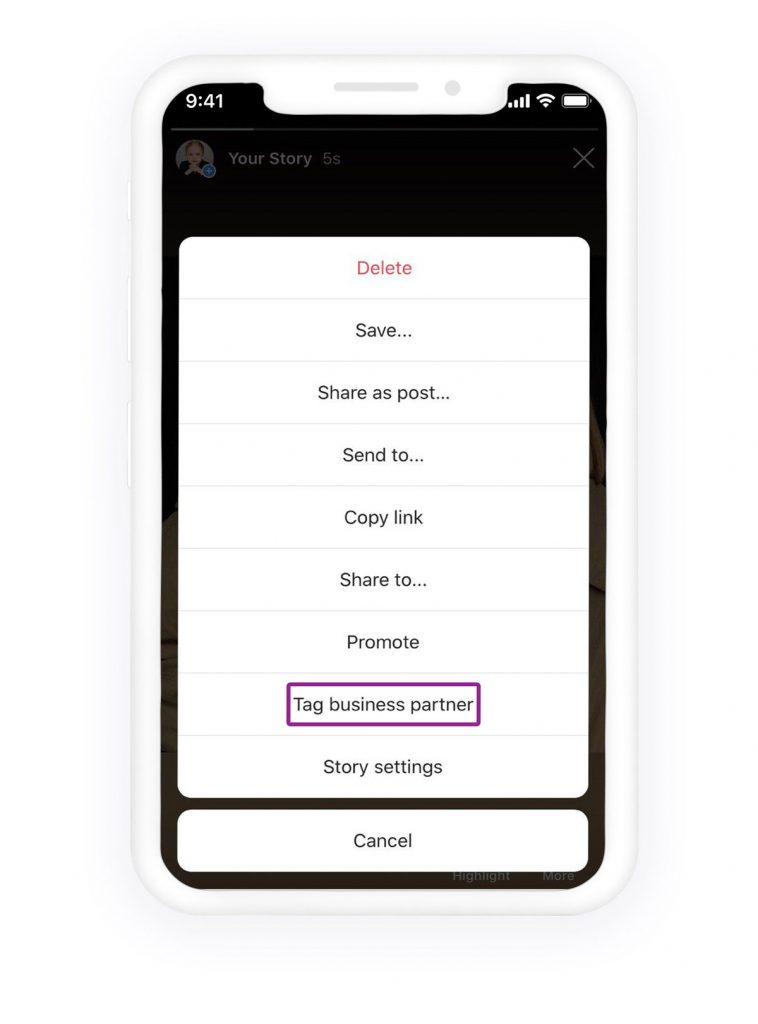 How to tag someone on Instagram story after posting