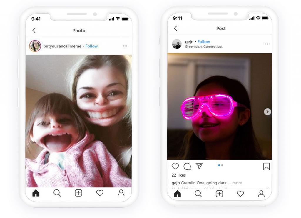 Instagram stories filters