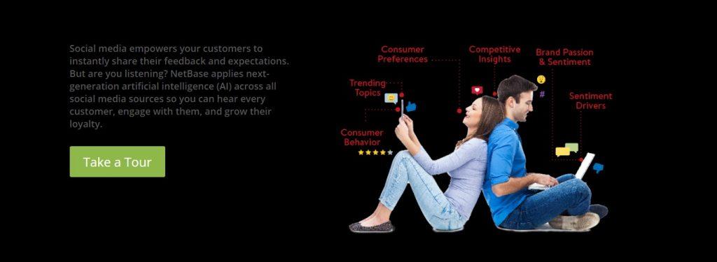 netbase social media analytics tool