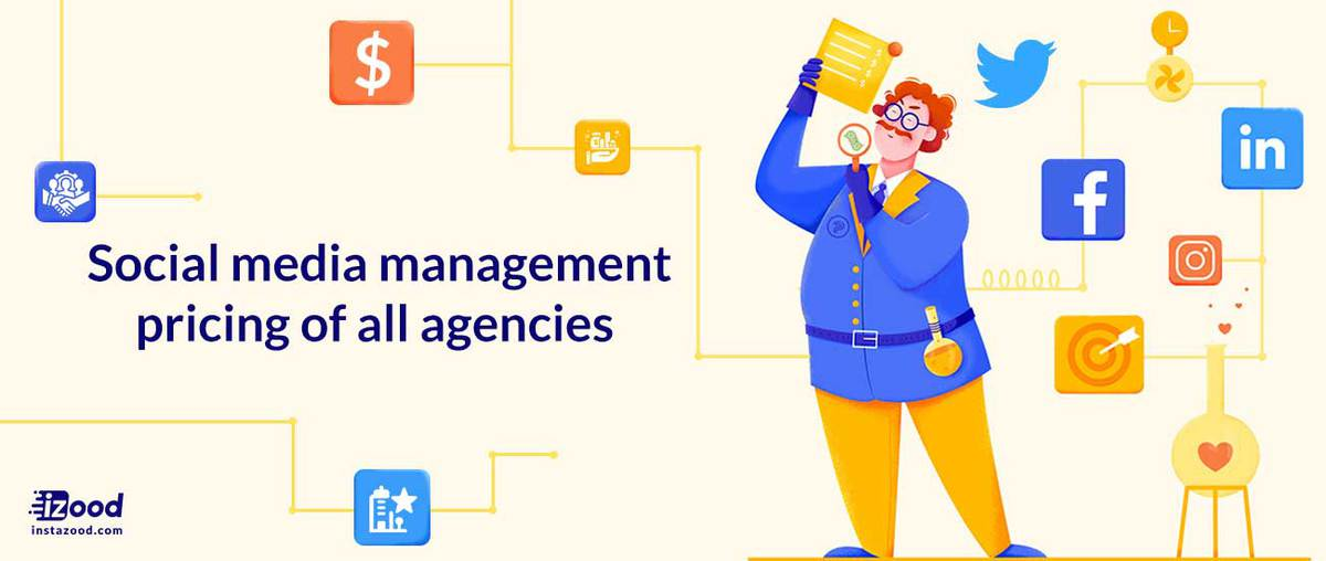 Social media management pricing of top agencies