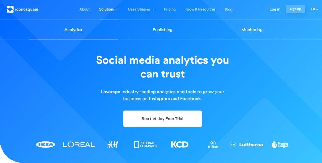 iconosquare social media analytics
