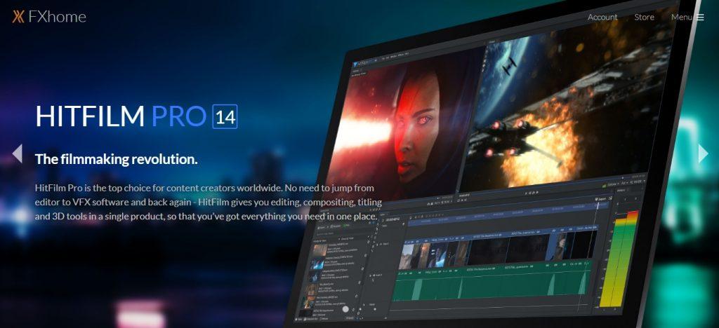 HITFILM video editor
