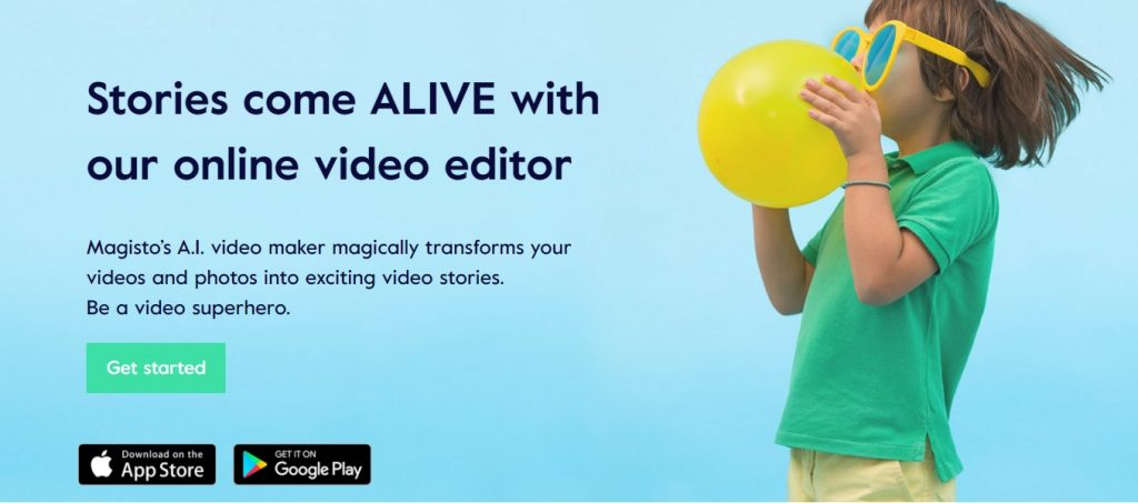 editor de video magisto