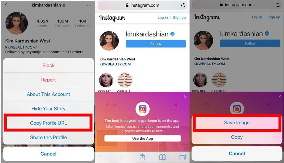 download Instagram profile picture