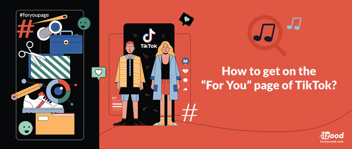 """How to get on the """"For You"""" page of TikTok?"""