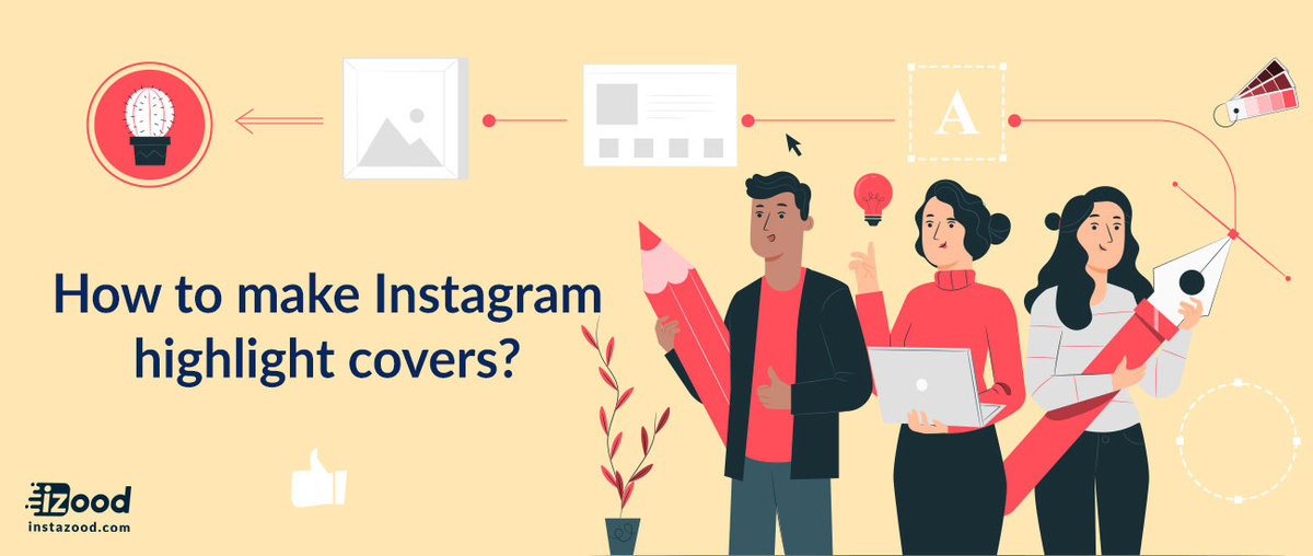 How to make Instagram highlight covers?