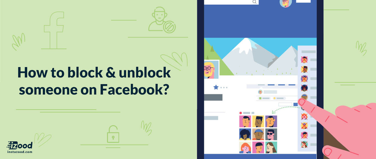 How to block or unblock someone on Facebook?