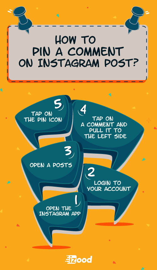 How to pin a comment on Instagram post?