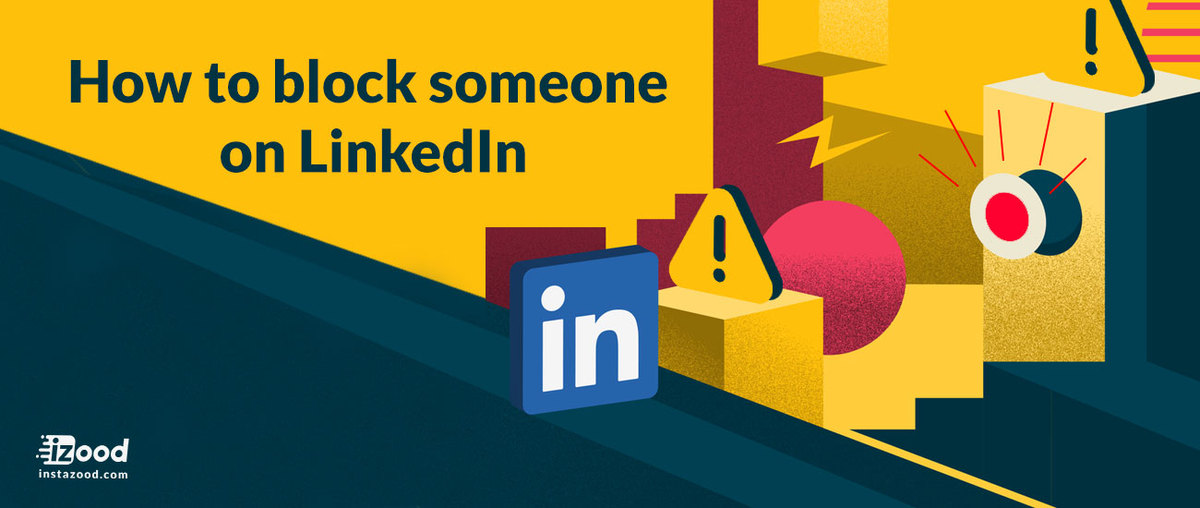 how to block on linkedin